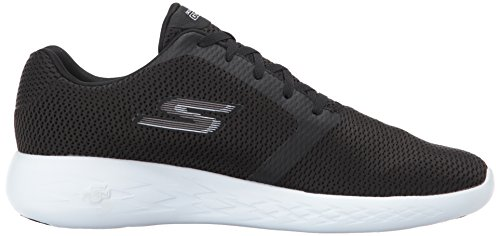 Refine White Black 600 Skechers Nero Go Indoor Sportive Scarpe Run Uomo q1wZnTwxt