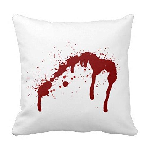 Salpicaduras de sangre 6. png manta almohada: Amazon.es: Hogar