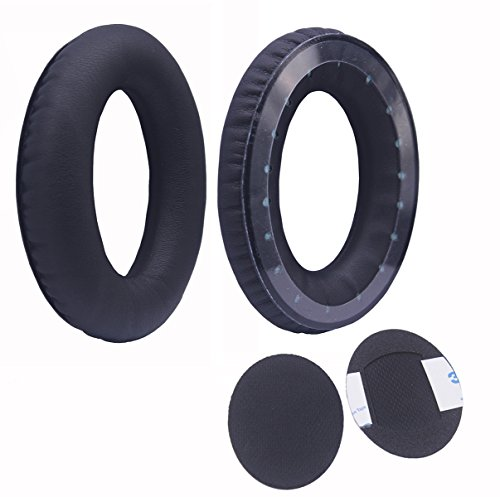 Bingle leather Ear pads for Bose AE1 Triport 1 TP-1 TP-1A Headphones-Spare Replacement Ear Cushions EarPads for Bose TP-1A (1Pair Black)(BT01B)