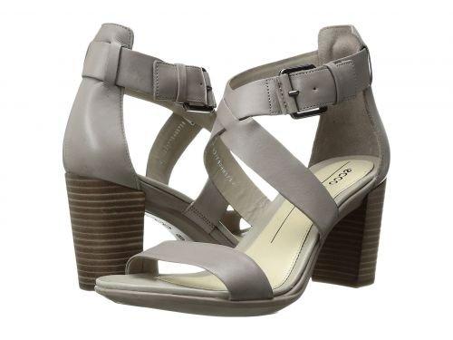 ECCO(エコー) レディース 女性用 シューズ 靴 ヒール アンクル Shape 65 Block Sandal - Moon Rock Calf Leather [並行輸入品]