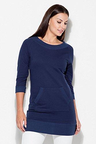 Katrus Känguru im Vorderteil Modernes Marineblau Tasche mit Kleid BrwBtq6