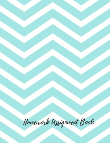 Homework Journal - Homework Assignment Book: Undated Daily/Weekly Assignment/Homework Planner Journal Notebook. 8.5In By 11In. 104 Pages. For Students, Men Women, Boys, & Girls (Student Planners)