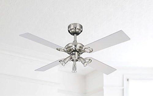 Westinghouse Ventilateur de Plafond Avec lumière Ete ou hiver Pearl