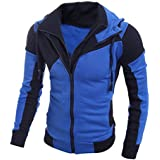 Bookear Clearance! Men's Autumn Winter Leisure Sports Cardigan Zipper Sweatshirts Tops Jacket Coat