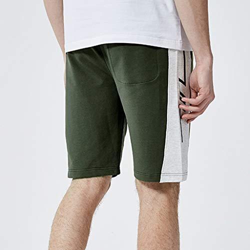 Uomo Amlaiworld Personalità Green Corta Pantaloni Army Pantaloncini Casual Estive Moda Sport Allacciatura TTxqH5wZ6W