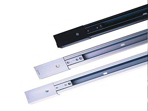 Carril Monofasico 2m Blanco Para Focos LED Aluminio