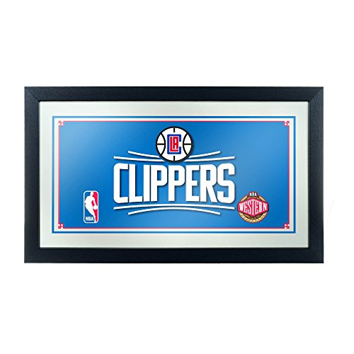 - NBA Los Angeles Clippers Framed Logo Mirror
