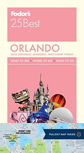 Fodor's Orlando 25 Best (Full-color Travel - Of Map Lagoon Typhoon