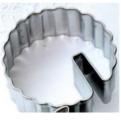 1 Scalloped Circle ~ Over the Edge Cup Cookie Cutter