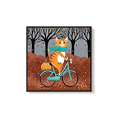 Crafted to Perfection, Elegant Technique, Framed for Living Room Bedroom Cute Animal Theme for