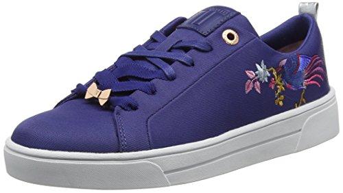 Baker Giellie 001 Mujer Zapatillas Ted Navy para Azul Bird ZaFPAqAw4