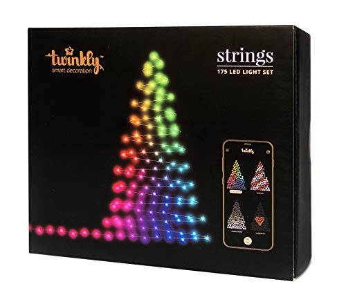 Twinkly 175 LED String Lights | Customizable WiFi-Enabled LED Lights]()