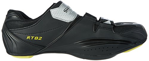 Shimano SPD SH zapatos de carreras de adultos RT 82 Negro - negro