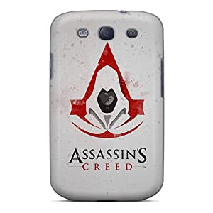Justcases Galaxy S3 Well-designed Hard Case Cover Assassins Creed Artwork Protector