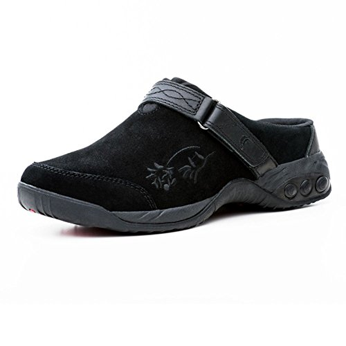 Black Therafit Women's Clog Austin Slip Shoe On x7qCY74U