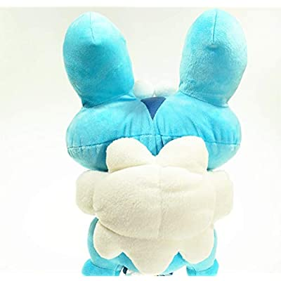 Froakie Plush Animation Toy Soft Stuffed Animals Beautiful Cutest Doll Fun Birthday Party Favors Great Gifts Ideas for Boys Girls Kids 12
