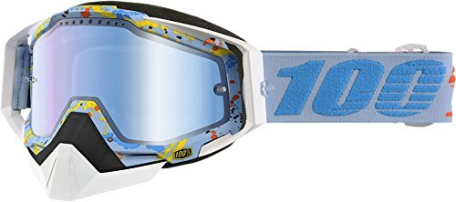 100% Racecraft Hyperloop Mirror Snowmobile Goggles by 100 PERCENT