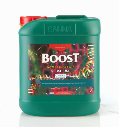 CANNA Boost Accelerator Flavor and Flowering Stimulator 9340005, 5 L