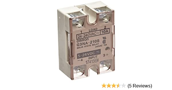 Omron G3NA-210B-DC5-24 Solid State Relay, Zero Cross Function ... on car relay wiring, auto relay wiring, orion relay wiring, idec relay wiring,