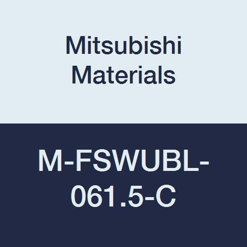 Left Mitsubishi Materials M-FSWUBL-061.5-C M-FSWUB Series Screw Clamp Dimple Boring Bar with 0.187 IC Trigon Insert 93/° Cutting Angle 0.375 Shank Dia. Heavy Metal Shank