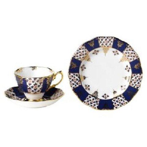 Royal Albert 100 Years Of Teas Trio-Regency Blue 1900