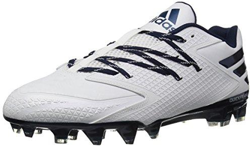 uk availability 5190f 8b9dd Galleon - Adidas Mens Freak X Carbon Low Football Shoe, WhiteCollegiate  NavyCollegiate Navy, 10 M US