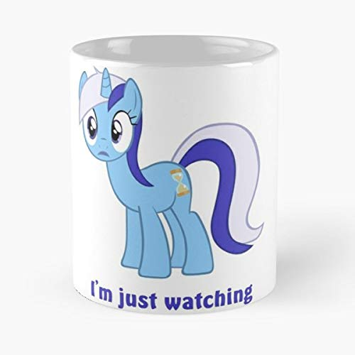 Minuette My Little Pony Brony Background - 11 Oz Coffee Mugs Ceramic,the Best Gift For Holidays. -