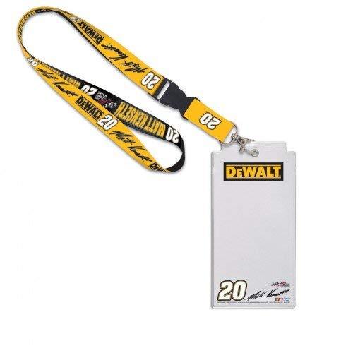 NASCAR Credential Holder with Break Away Lanyard (Matt Kenseth)