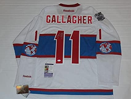 new arrival 12741 9fc15 Brendan Gallagher Signed Jersey - 2016 Winter Classic Coa ...