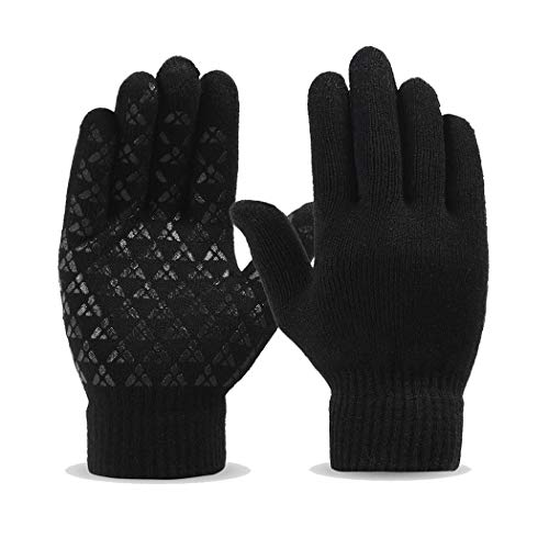 Winter Touch Screen Thermal Knit Gloves Men Women Smart Phone