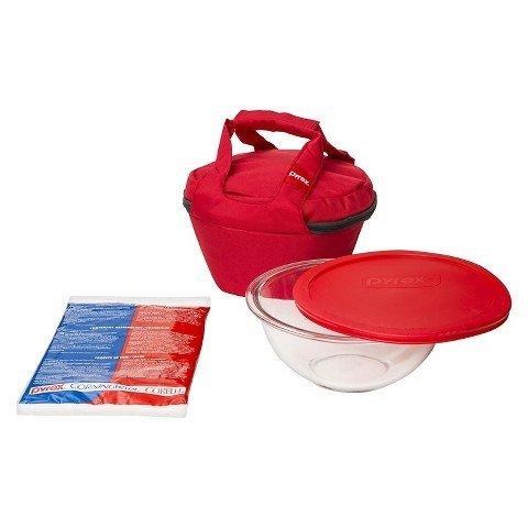 Pyrex Portable Mixing Bowl- 2.5QT