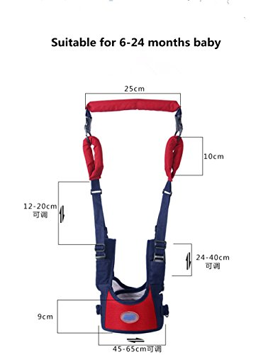 TRMB Handheld Baby Walker, Toddler Safety Harness to Prevent Baby Falling, Safe and Non-Toxic, Breathable and Comfortable, Pulling and Lifting Dual Use by GGTRMB (Image #5)