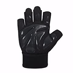 Fenglei workout gloves are made of breathable material making them lightweight and durable at the same time. The gloves offer users better protection in all dimensions due to the non-slip silica gel palm grips and vibration reduction design. ...