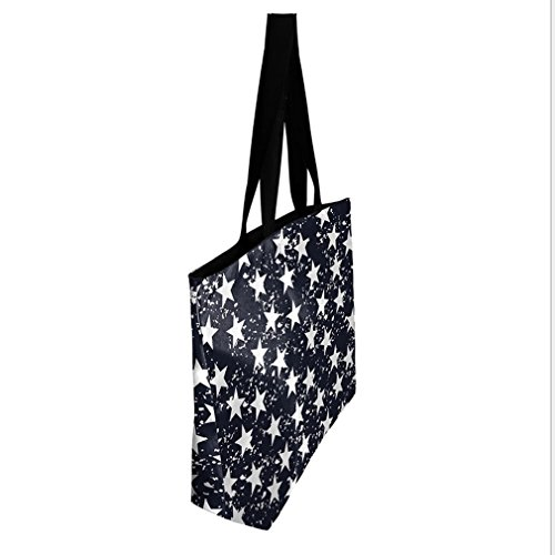 Bags Women's handbag zipper Star Printing Galaxy Belsen Shoulder Shopping Wgp7nwa7Fq