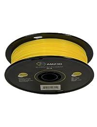1.75 mm Filamento de impresora 3d PLA amarillo   1 kg Carrete (2.2 libras)   Precisión dimensional +   0,03 mm