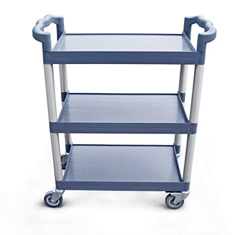 - New Star 1 pc Heavy Duty Utility Cart Bus Cart 350 lbs Load 3 Tier Cart 42-1/2x19-1/2x38-1/2