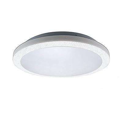 ZHMA Lámpara de techo empotrada de 48W, 3600LM, Lámpara de techo impermeable blanca cálida, Lámpara de panel moderna LED, Ahorro de energía, ...