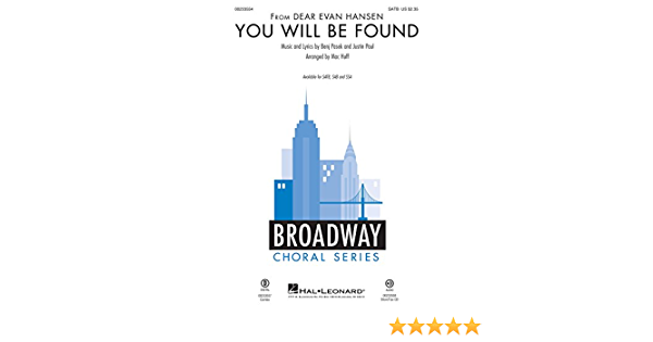 Amazon Com You Will Be Found From Dear Evan Hansen Musical Instruments Add a bio, trivia, and more. you will be found from dear evan hansen