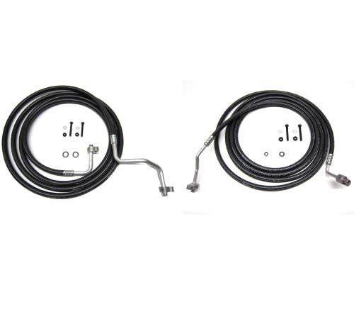 Rear AC Line Set Auxiliary AC Hose Kit 2002-2009 Chevy Trailblazer by Auto Cooling Solutions (Image #3)