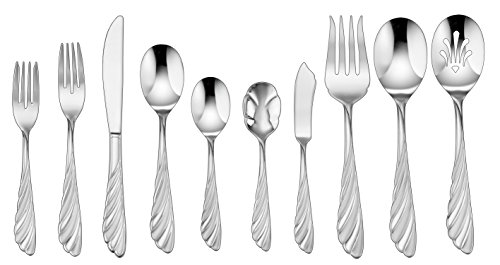 - Cuisinart CF-01-AB45 Abelle Collection 45 Piece Flatware Set, Stainless Steel