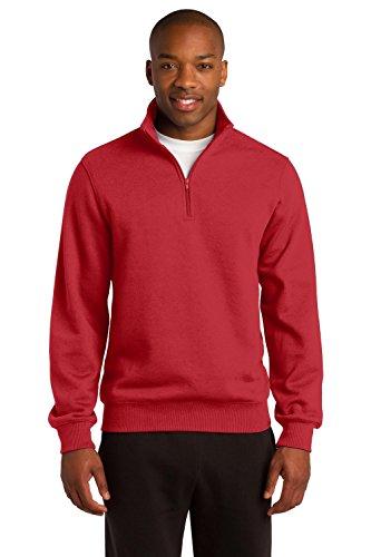 Heavyweight 1/4 Zip Sweatshirt - 4