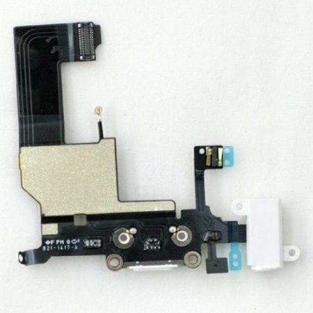 OEM Apple iPhone 5 Charging Port Replacement Part for Repairs & Fixes-Color Black (I Phone 5 Replacement Parts)