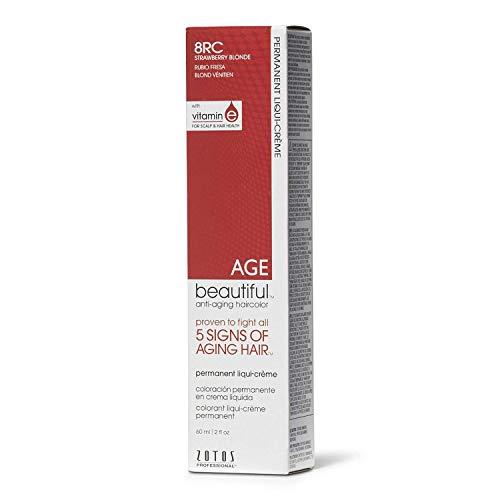 AGEbeautiful 8RC Strawberry Blonde Permanent Liqui-Creme Hair Color 8RC Strawberry Blonde