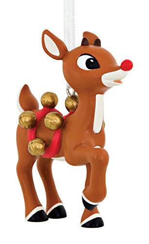Hallmark Rudolph Red nosed Reindeer Christmas Tree Ornament 2017