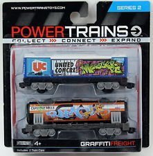Power Trains Graffiti Freight Series 2 for sale  Delivered anywhere in USA