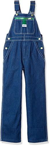 Liberty Big Boy's Denim Bib Overall, Rigid Blue, 18