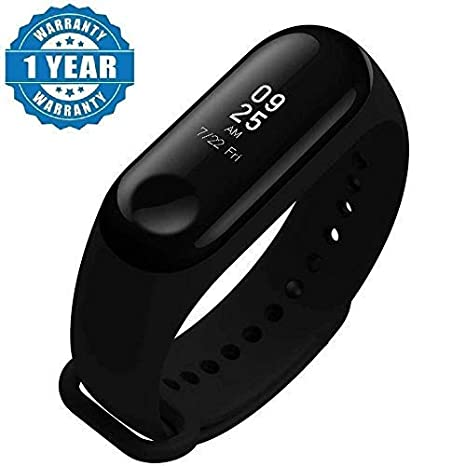 Lambent Enraciner M3 Smart Fitness Band Activity Tracker with Heart Rate  Sensor for All Androids/iPhone Device