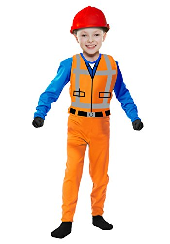 Charades Little Boy's The Builder Childrens Costume, as