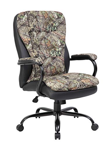 Boss Office Products Mossy Oak Big and Tall Break-Up Country 400-lb. Capacity Office Chair, Camo