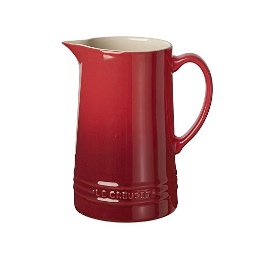 Le Creuset of America Pitcher, Cerise (Cherry Red)